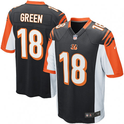 Nike Youth Cincinnati Bengals A.J. Green Game Jersey Black - Fan Gear Nation