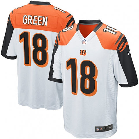 Nike Youth Cincinnati Bengals A.J. Green Game Jersey White