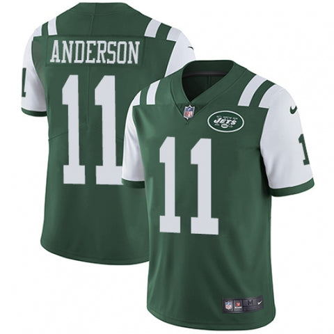 Nike Youth New York Jets Robby Anderson Limited Player Jersey Green