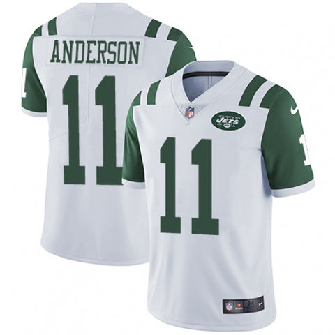 Nike Youth New York Jets Robby Anderson Limited Player Jersey White