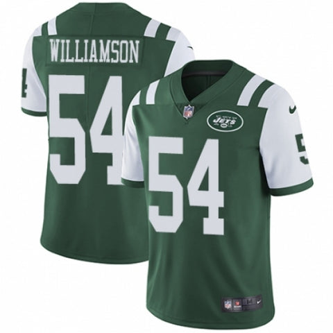 Nike Youth New York Jets Avery Williamson Limited Player Jersey Green - Fan Gear Nation