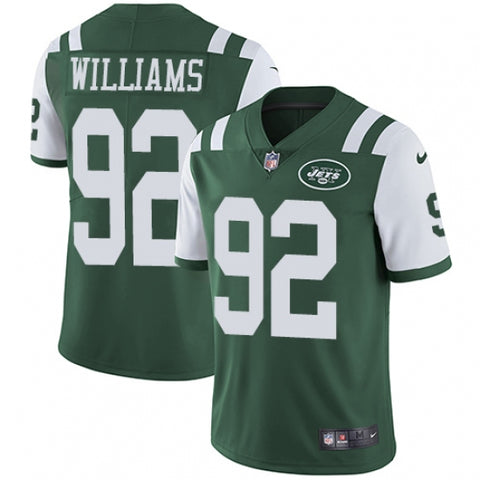 Nike Youth New York Jets Leonard Williams Limited Player Jersey Green - Fan Gear Nation