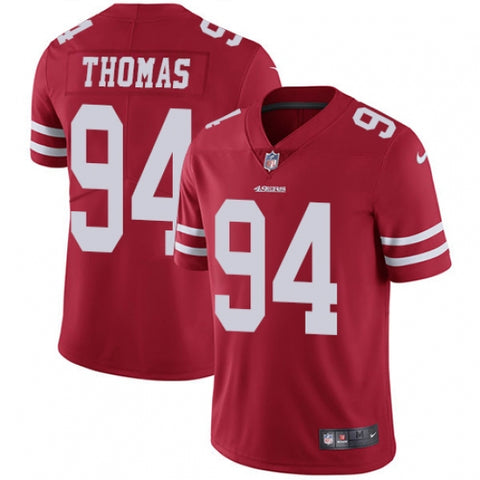 Nike Youth San Francisco 49ers Solomon Thomas Limited Player Jersey Red - Fan Gear Nation