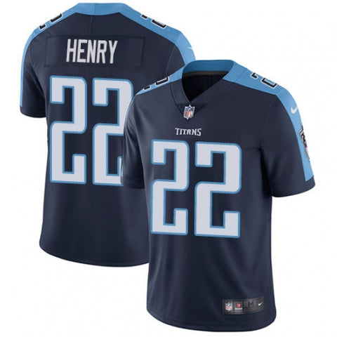 Nike Youth Tennessee Titans Derrick Henry Alternate Limited Jersey Navy Blue - Fan Gear Nation