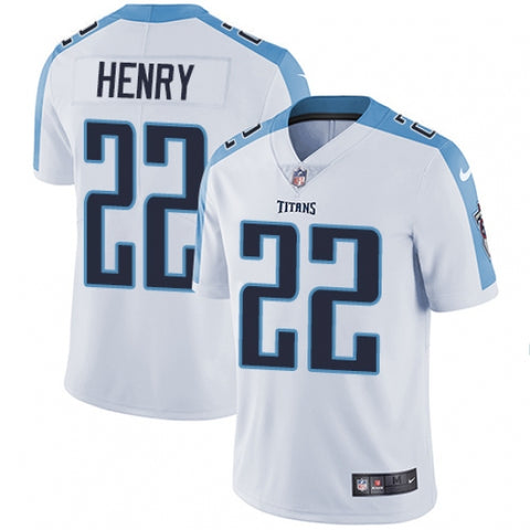 Nike Youth Tennessee Titans Derrick Henry Limited Player Jersey White - Fan Gear Nation