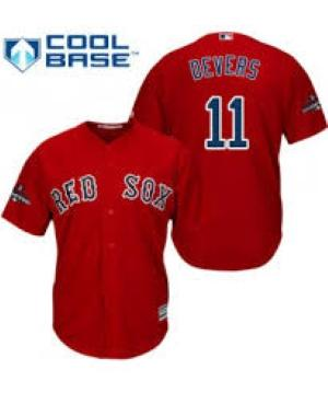 Youth Boston Red Sox Rafael Devers Cool Base Replica Jersey Red - Fan Gear Nation