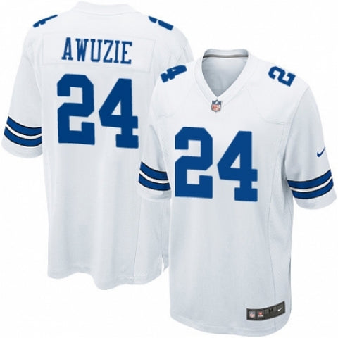 Nike Men's Dallas Cowboys Chidobe Awuzie Game Jersey White - Fan Gear Nation