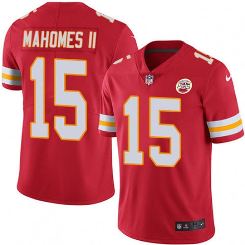 Nike Youth Kansas City Chiefs Patrick Mahomes II Limited Player Jersey Red - Fan Gear Nation