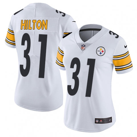 Nike Women's Pittsburgh Steelers Mike Hilton Limited Player Jersey White - Fan Gear Nation