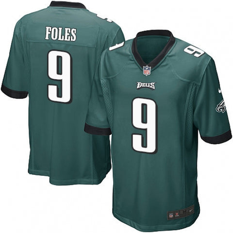 Men's Philadelphia Eagles Nick Foles Game Jersey Midnight Green - Fan Gear Nation