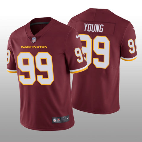 Men's Chase Young Washington Football Maroon Game Vapor Jersey - Fan Gear Nation