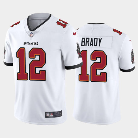 Men's Tampa Bay Buccaneers Tom Brady Game Vapor Limited Jersey White - Fan Gear Nation