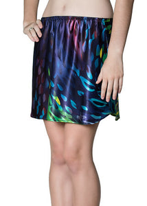 "Dazzling 13-inch ""Midnight Lights"" Satin Half Slip"