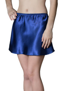 Blue Mini Half Slip