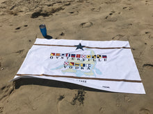 Oysterville Vodka Beach Towel