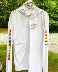Oysterville Tri-Blend Long Sleeve Hoodie