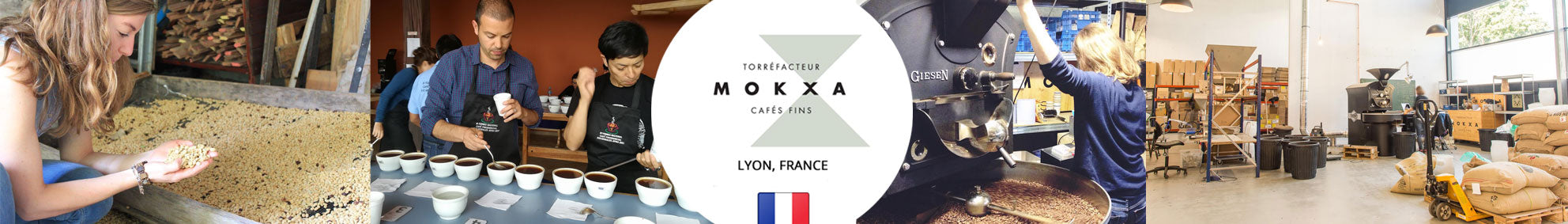 Cafe Mokxa Coffee Roasters France