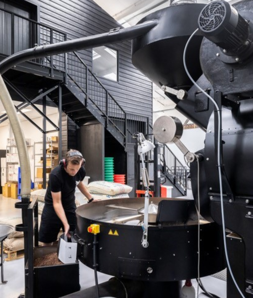 Tom Roaster at Square Mile Speciality Coffee