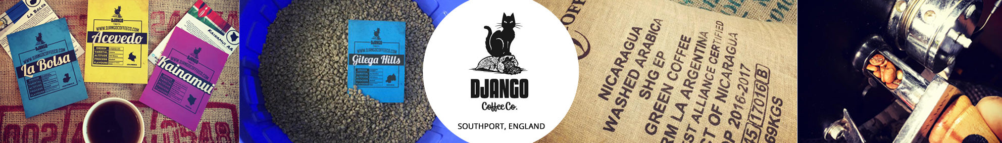 Subscription Coffee Roaster - Django Coffee Co.
