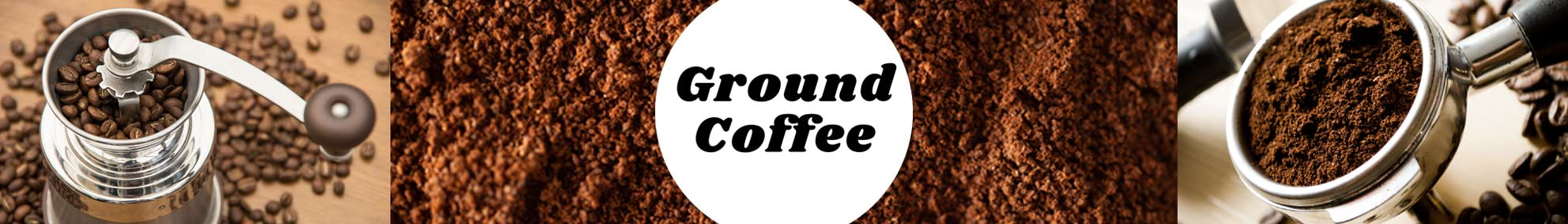 Ground Coffee Subscription and Grinders