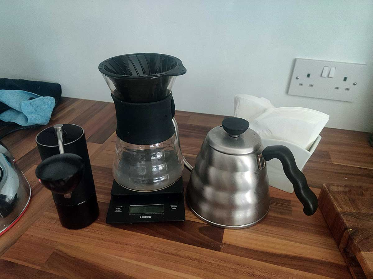 Filter Coffee Subscription Setup