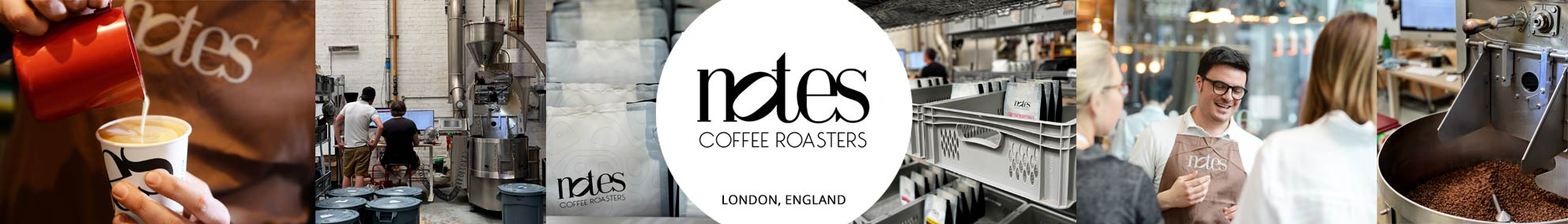 Notes Coffee Roasters on UK Best Monthly Coffee Subscription