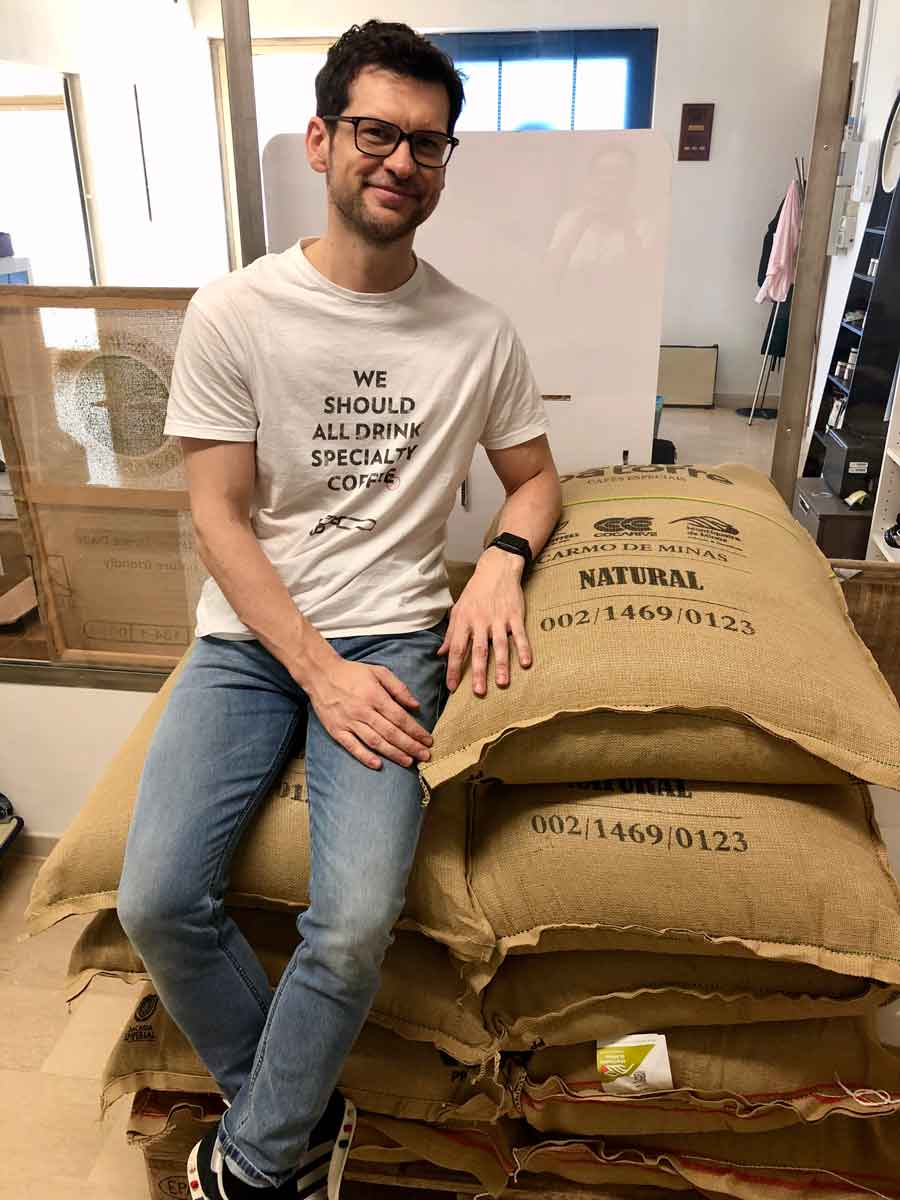 Paolo Nero Scuro Roaster on the best coffee subscription in UK