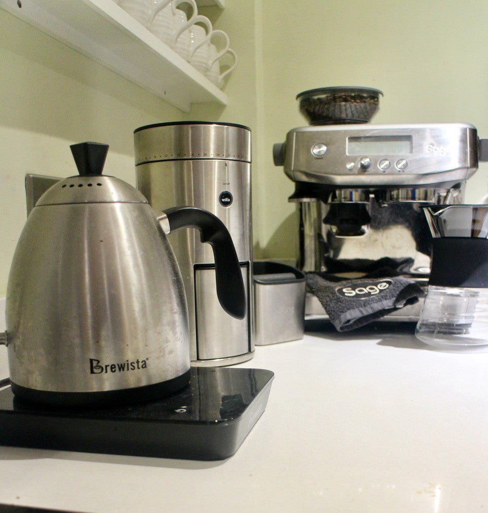 Filter Coffee Subscription Members Equipment