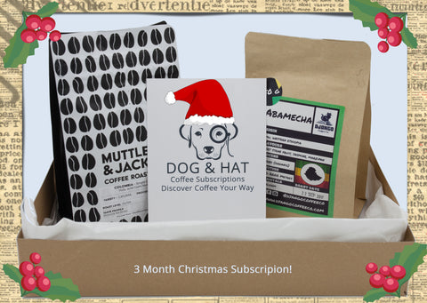 Christmas Gift 3 months of 2x 250g  ASSORTED Coffees (FREE DELIVERY)