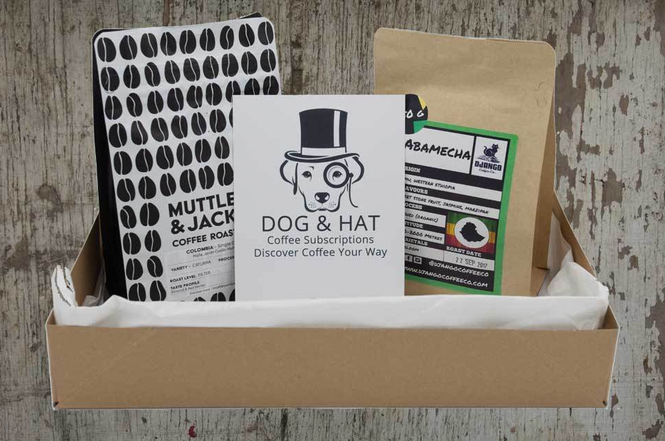 [Coffee Subscription] - [Dog and Hat]