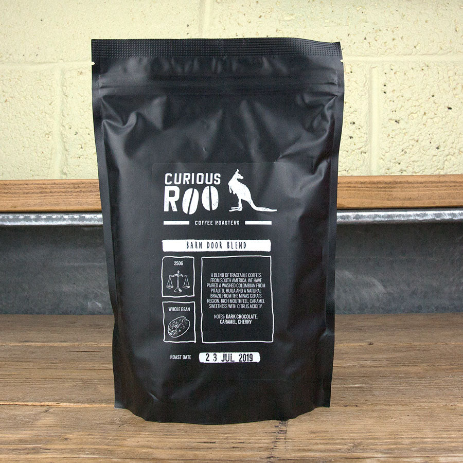 Curious Roo Barn Door Blend UK Coffee Subscription
