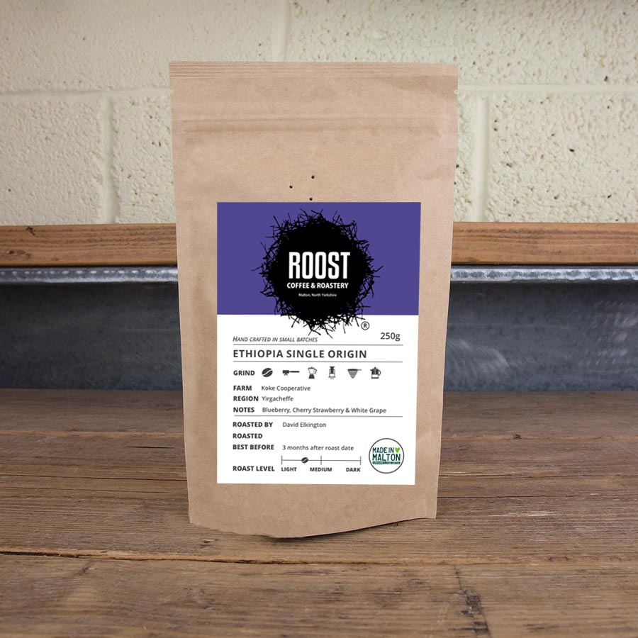 Roost Ethiopia Dialled In Coffee Subscription