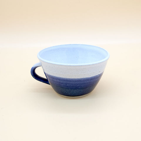 Libby Ballard Handled Coffee Cup Gift - Midnight Blue