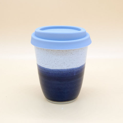 Libby Ballard Travel Coffee Cup Gift - Midnight Blue