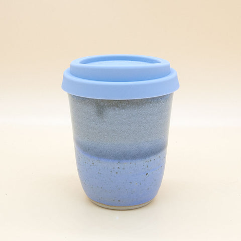 Libby Ballard Travel Coffee Cup Gift - Blue Grey