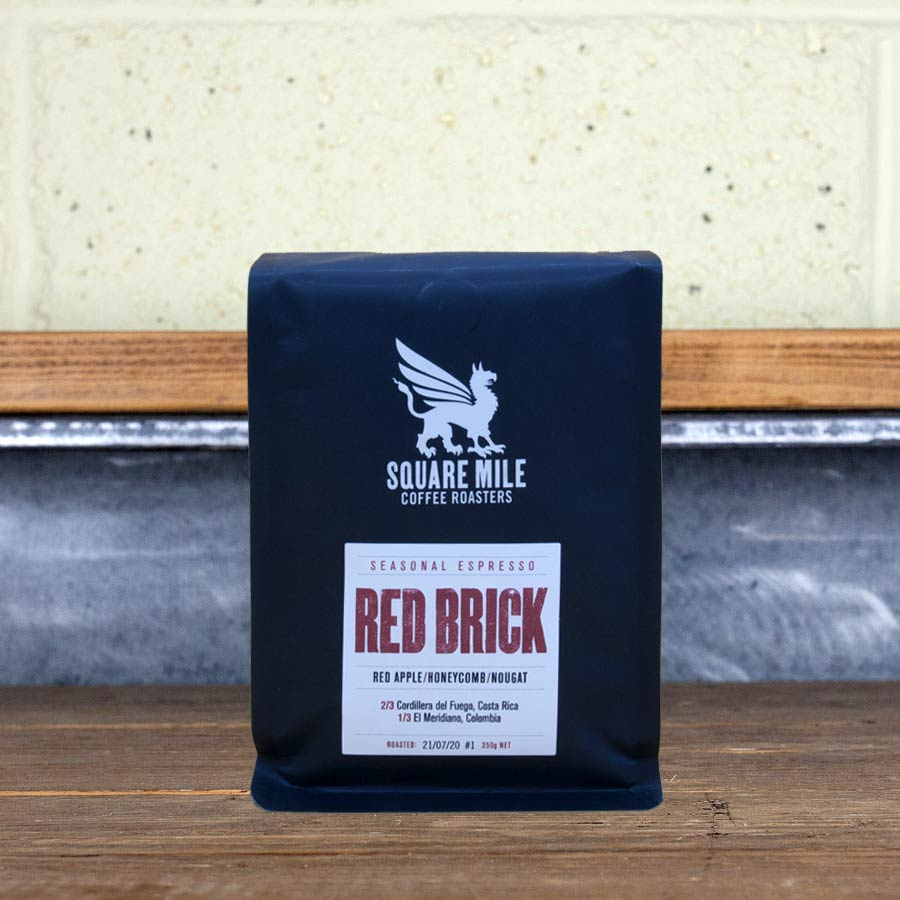 Square Mile Red Brick Espresso on UK Best Coffee Subscription