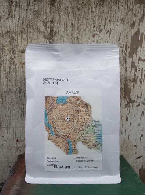 Hoppenworth and Ploch - Tanzania - Single Origin - Direct Trade