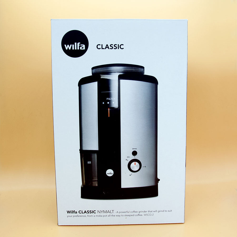 Wilfa Svart Electric Coffee Grinder for Whole Bean Coffee