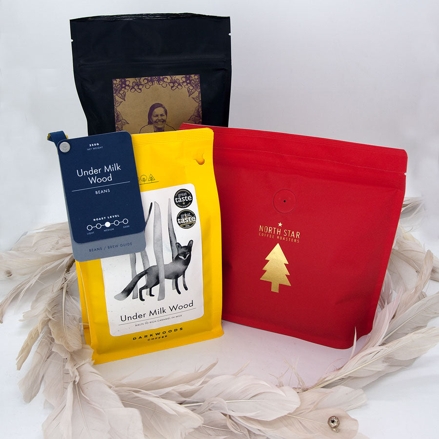 ASSORTED Subscription 3x (+1 Decaf) 4x 250g Coffees Monthly (FREE DELIVERY)