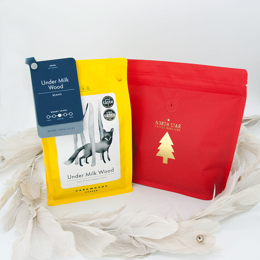 ESPRESSO & DECAF Subscription 2x 250g Coffees Monthly (FREE DELIVERY)