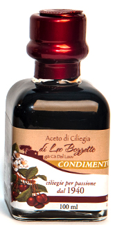 Maargo' Balsamic Cherry Vinegar 12 years old .  Exceptional, unique product in the world, Premium/ Condimento 100 ML