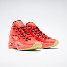 Load image into Gallery viewer, Reebok Hot Ones Question Mid - Red / Black / Yellow Filament
