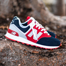 Load image into Gallery viewer, New Balance 574 - Red / Navy
