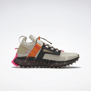 Reebok Zig Kinetica - Alabaster / High Vis Orange / Proud Pink