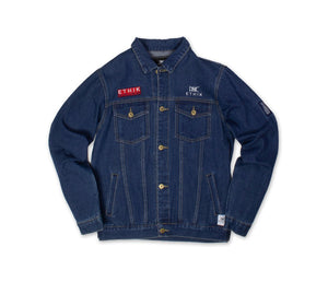 Ethik Denim Jacket - Pray For Your Enemie