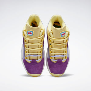 Reebok x BBC Ice Cream Question Low - Yellow / Purple / White
