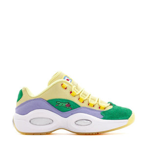 Reebok x BBC Ice Cream Question Low - Yellow / Purple / Green / White