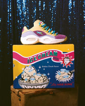 Load image into Gallery viewer, Reebok x BBC Ice Cream Question Low - Yellow / Purple / White
