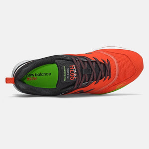 New Balance 997H - Orange / Black / Lime
