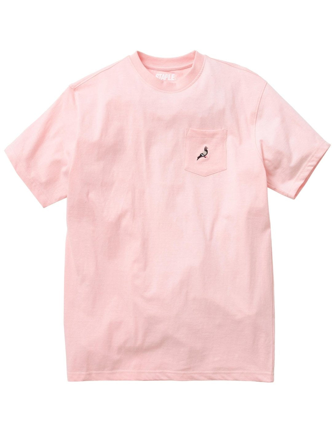 Staple Pigeon Garment Washed Pocket Tee - Pink